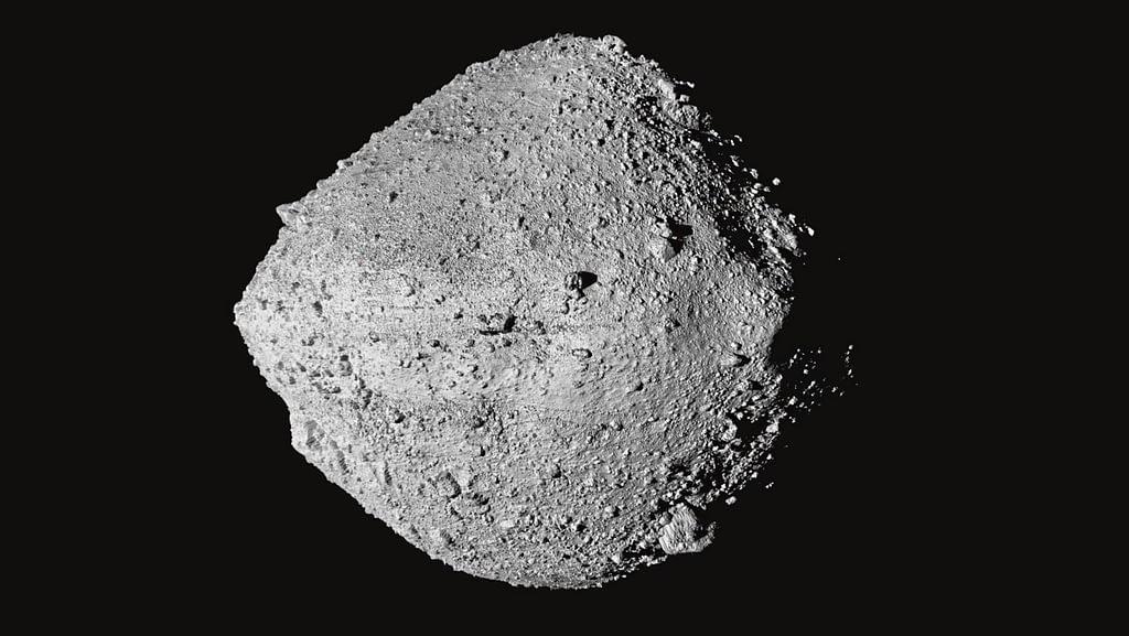 Bild von Asteroid Bennu. Quelle: NASA